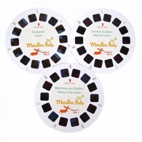 3D мини-кинотеатр с 3-мя дисками