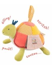 Les Papoum Черепаха мультиактивная погремушка