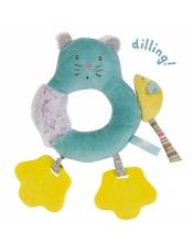 Les Pachats Котик-погремушка-прорезыватель