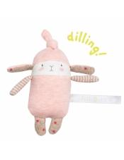 Les Petits Dodos погремушка розовый кролик Lulu