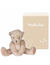 Утешитель Медвежонок средний 710047 в подарочной коробке.