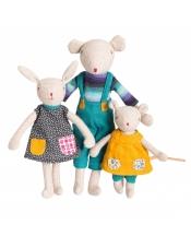 La Famille Mirabelle мышонок Noisette