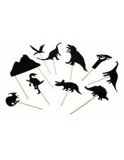 Театр теней Динозавры (фигурки)