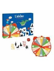 Истории на ночь - игра с кубиком, полем и карточками (на французском языке) 711092